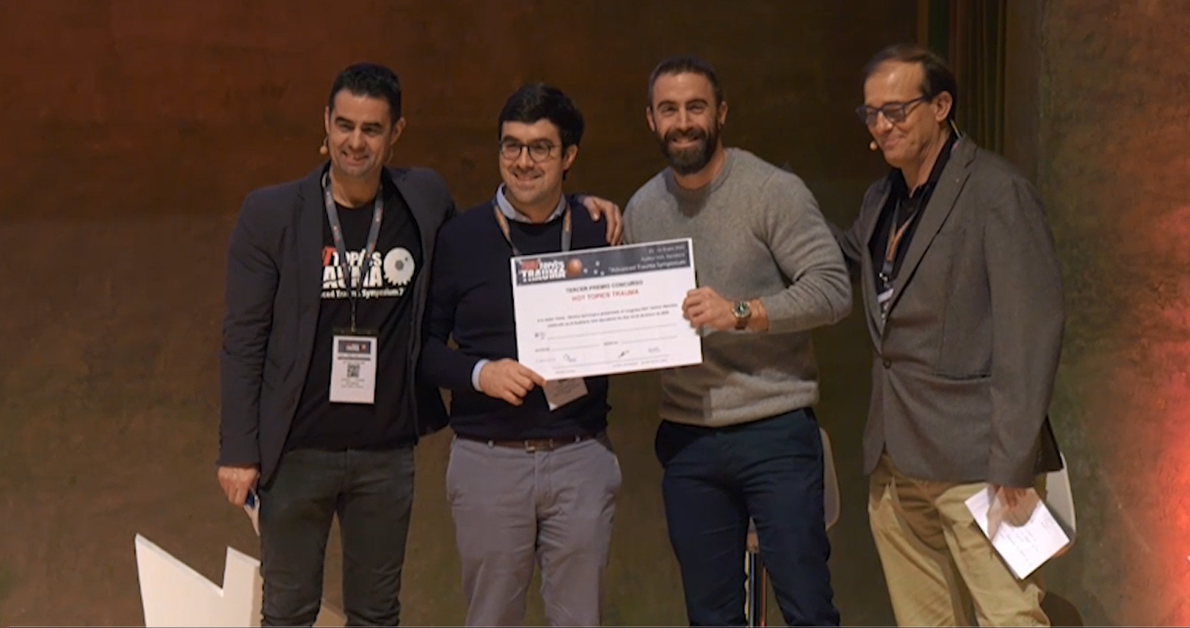3er PREMIO Video Técnicas Quirúrgicas 3a edición Hot Topics Trauma 2020 https://hotopicstrauma.com